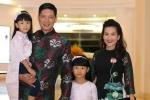 Hai 'công chúa' nhà Bình Minh - Anh Thơ diện đồ đôi đáng yêu