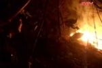 Chữa cháy rừng, hạt phó hạt kiểm lâm tử vong