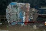 Hiện trường vụ tai nạn đường sắt thảm khốc ở Nam Định