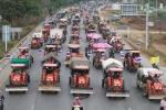 Clip: Nông dân Thái Lan lái máy cày đòi nợ chính phủ
