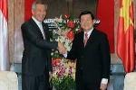 Ông Lý Hiển Long đánh giá cao chuyến thăm Việt Nam