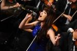 Nhật Thủy trình diễn trong Festival Âm nhạc Á - Âu