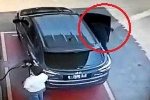 Clip: Trộm lẻn vào ôtô ăn cắp đồ dễ như trở bàn tay