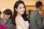 Hoa hậu Nguyễn Thị Huyền diện đầm cúp ngực, khoe vai trần nuột nà