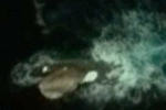 Nghi vấn UFO phát sáng giữa đại dương