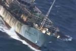 Video: Argentina xả súng bắn chìm tàu cá Trung Quốc