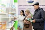 Sản phẩm Vinamilk đã chiếm được cảm tình của người dân Matxcova