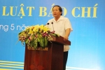 Hội thảo góp ý xây dựng Luật Báo chí