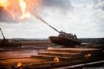 Xe tăng, bọc thép, pháo tự hành Nga lội bùn, khạc lửa