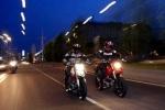 Tránh tai nạn khi đi xe máy trời tối