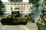 Cận cảnh đội hình xe tăng vào giải phóng Sài Gòn