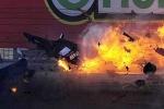Cận cảnh thảm họa khủng khiếp tại trường đua Vegas