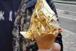 Clip: Món kem dát vàng lấp lánh khó cưỡng ở Nhật Bản