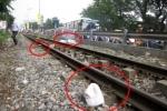 Băng qua đường sắt, người đàn ông bị tàu tông văng 20m