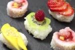 Cách làm sushi hoa quả ngon ngất ngây