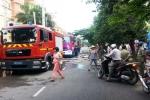 TP.HCM: Cháy lớn ở công ty thủy sản