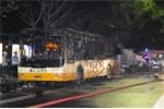 Xe bus Trung Quốc nổ tan tác, hàng chục người thương vong