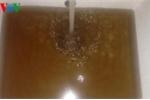 Chung cư tiền tỷ phải dùng nước bẩn như nước sông Tô Lịch