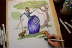 Sáng tạo bức tranh tuyệt vời từ nét vẽ nghệch ngoạc