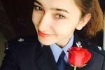 Nhan sắc nữ cảnh sát chống khủng bố Tân Cương