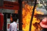 Cháy cây xăng giữa Thủ đô: Lời kể nhân chứng