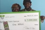 Đôi vợ chồng, ba lần trúng số triệu đô trong tháng