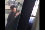 Thanh niên manh động, chặn đầu đập vỡ kính xe khách