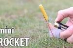 Clip: Cách làm 'tên lửa' mini tự chế đơn giản không ngờ