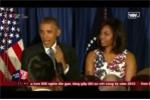 Clip: Ông Obama phát biểu khiến khán phòng cười nghiêng ngả