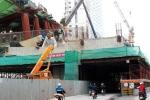 Dự án đường sắt đô thị: Vẫn thi công bất chấp nguy hiểm