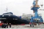 Cháy tàu chở container ở Hải Phòng