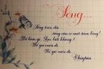 Nữ sinh Đại học Công đoàn xinh xắn viết chữ đẹp như in