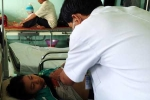 Nổ đồ chơi, máu học sinh bị thương đông cứng trong xi lanh