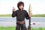 Chiến binh nhí của IS dọa chặt đầu Tổng thống Obama