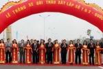Thông xe đường cao tốc Hà Nội - Thái Nguyên
