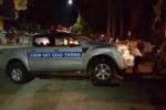 Truy tìm tài xế 'hổ báo' tông xe vào CSGT rồi tẩu thoát