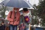 Gió mùa Đông Bắc tràn về, miền Bắc mưa dông mạnh