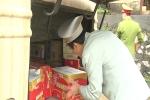 Phát hiện lô hàng thực phẩm nhập lậu nghi do Trung Quốc sản xuất