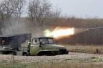 Quân đội Ukraine đặt pháo phản lực bao vây Slavyansk
