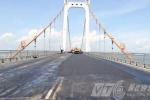 Sự thật vết nứt 'khủng' trên cầu dây võng lớn nhất VN