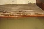 Nước ngập ngang giường, dân Hà Nội hì hục tát nước
