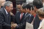Những hình ảnh Chủ tịch Cuba Raul Castro ở Việt Nam