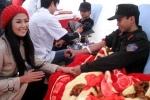 HH Ngọc Hân và 12.000 người tham gia Ngày hội hiến máu
