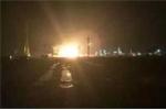 Lại nổ nhà máy hóa chất ở Trung Quốc, 9 người mất tích