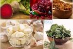 Thực phẩm bổ sung chất sắt cho cơ thể