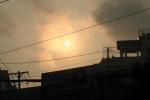 Hình ảnh nhật thực một phần quan sát được sáng 9/3 ở Việt Nam