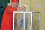 Bầu cử Quốc hội khóa XIV: Nhộn nhịp nơi 'làng trong phố' có rất nhiều cử tri trên 90 tuổi