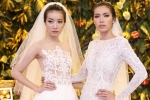 'Angelina Jolie phiên bản Việt' gợi cảm với váy cưới ren xuyên thấu