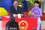 Thủ tướng Nguyễn Xuân Phúc: 'Cuộc bầu cử lần này sẽ củng cố chính quyền các cấp tốt nhất'