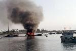 Nổ bình gas trên tàu cá: Vớt được 4 trong số 19 nạn nhân